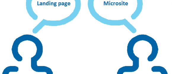 landing page o microsite