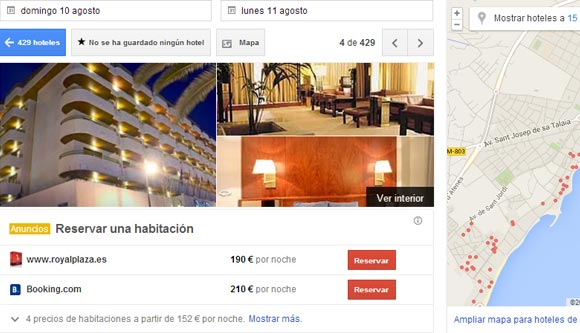 motor de reservas neobookings implementa google hotel price ads