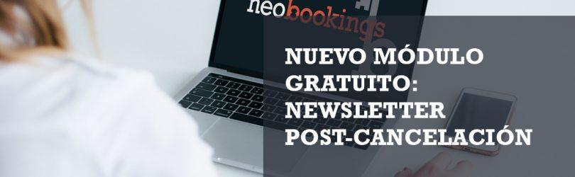 Newsletter post-cancelación nuevo módulo