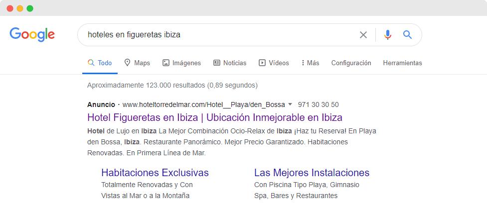 Campaña Coste por clic en Google