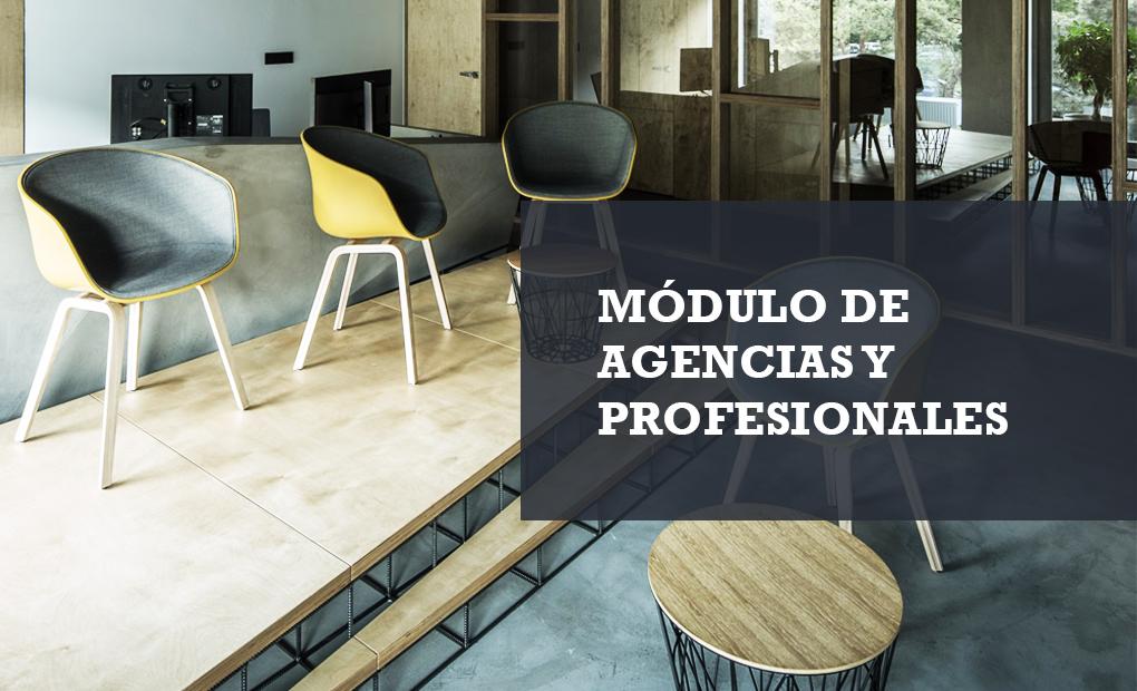 Módulo agencias y profesionales