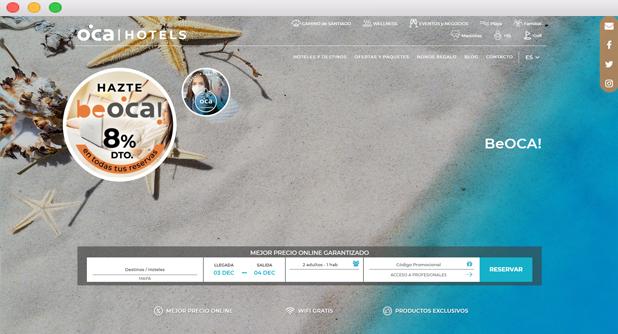 programa fidelización Oca Hotels