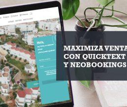 Chatbot Quicktext Neobookings