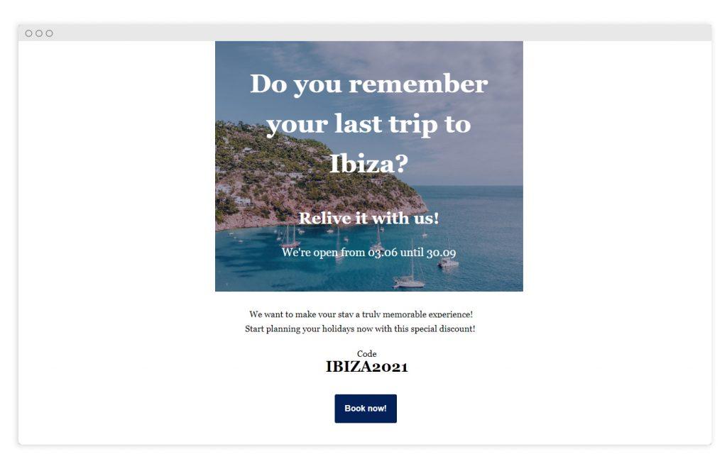 reactiva demanda con Newsletters